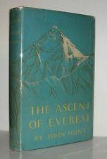 John Hunt / THE ASCENT OF EVEREST 1st Edition 1953