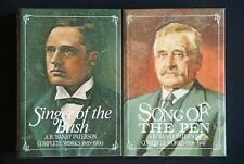 Banjo Paterson - Singer of the Bush & Song of the Pen HC 2 x set complete works