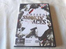 Smokin' Aces (DVD, 2007) Region 2 & 4 & 5
