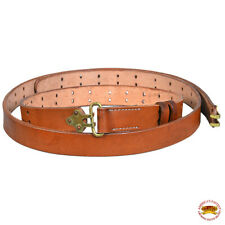 C-f102 WWII US M1 Garand Rifle M1907 Leather Carry Sling American Brown