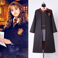 Kid & Adult Size Gryffindor Uniform Costume Hermione Granger Cosplay Outfit