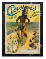 Historic Cleveland Cycles 1900s Advertising Postcard