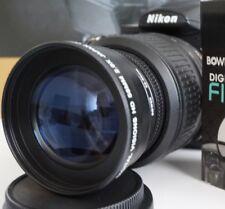 pl 2x Telephoto Lens For Nikon d5300 d3300 d5100 d3100 d3200 d60 d40x w/18-55 vr
