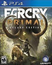 Far Cry Primal: Deluxe Edition (Sony PlayStation 4, 2016)