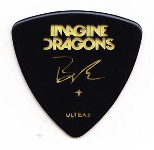Imagine Dragons Ben McKee Signature Black Guitar Pick - 2018 Evolve World Tour