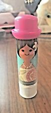 Vintage Kitschy AVON Small World Lipkins Lipstick Lip Balm Disney Disneyland