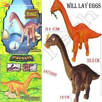 Kids Children Walking Dinosaur Lays Egg Figure Toys With Light Sound Gifts BNB