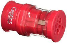 Ceptics Worldwide International Travel Plug Adapter Kit - Small Sized - Pink