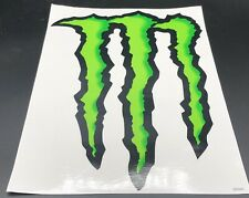 Monster Energy M-Claw Decal 14x10 Super Glossy NEW