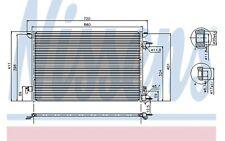 NISSENS Condensador, aire acondicionado OPEL VECTRA FIAT VAUXHALL SIGNUM 94598