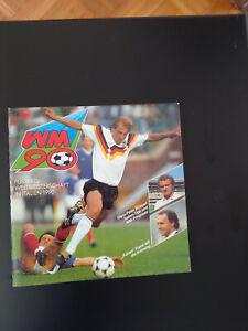 Ferrero Fussball Album WM 90 komplett - Duplo Hanuta