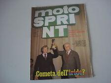 MOTOSPRINT 50/1978 PROVA TEST MOTO FANTIC CABALLERO 125 RC