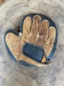 Vintage Catchers Glove Left Handed Leather