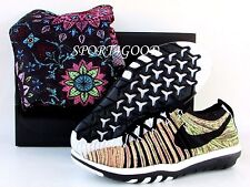 Nike Free Transform Flyknit Sun Women Riccardo Tisci Size 7 [8448818 900]