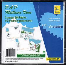 FRANCE FRANCIA 2005 Lot de Enveloppes illustrées Meilleurs Voeux NEUF