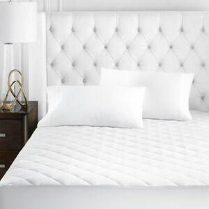 HOTEL COLLECTION TWIN MATTRESS PAD MSRP $160 NEW IN PACKAGE WHITE