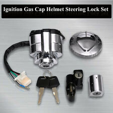 Ignition Gas Cap Helmet Steering Lock Set For Honda Shadow VLX VT 400 600 750 US