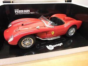 Burago 3007 - Ferrari 250 Testa Rossa (1957) Rot - 1/18 - OVP