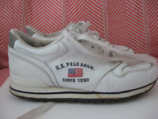 Vintage 1980'S Us Polo Assn 1890 Sz 7 Retro 2 Leather Sneaker Tennis Shoe
