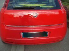 Fiat GRANDE PUNTO (199) - CHROME Rear Trim Strip Trunk Tuning 3M Tailgate