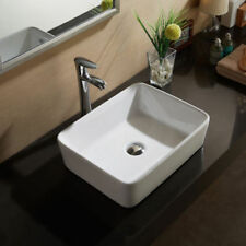 Rectangle Solid Countertop Bathroom Sinks