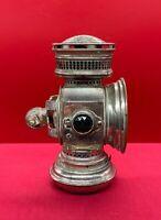 Antique Hine Watt Chicago Bicycle Lamp Early C.1890 Rare Find Bike Oil Lantern