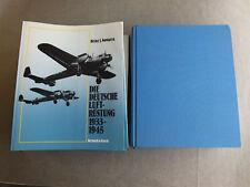653-Nowarra. L'allemande luftrüstung 1933-1945. Volumes 1-4 complet