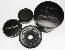 Canon FL-P 38mm f2.8 Pancake for Pellix  #10999 ........... Minty w/Case,Caps
