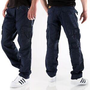 Timezone Herren Cargo Jeans Hose Benito TZ 0-3-9-1 blau  Größe wählbar Neu