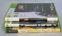 "#19-53  Xbox (1) & Xbox 360 (2) games ~ 3 game bundle ""multi theme"""