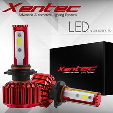 2x 9007 HB5 200W 20000LM CREE COB LED Headlight Kit Hi/Lo Power Bulbs 6500K HID