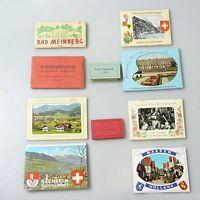 50er  - 70er Jahre 10 x Postkartenheft  Ansichtskartenbuch Klappkarten (1)