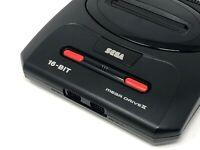 SEGA Mega Drive II/2 + New Capacitors + Switchless PAL/NTSC 50/60hz + Wide Slot