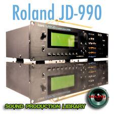 for Roland JD-990 - unique original WAVE/Kontakt Multi-Layer Samples Library DVD