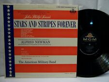 Stars And Stripes Forever OST ALFRED NEWMAN AMERICAN MILITARY BAND  NM!