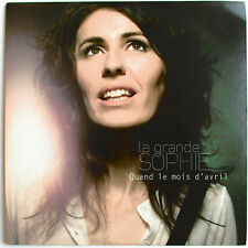 "LA GRANDE SOPHIE - CD SINGLE PROMO ""QUAND LE MOIS D'AVRIL"""