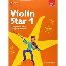 VIOLIN STAR 1 Student book with CD  Beginner violin sheet music book ABRSM