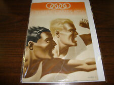 1936 Olympic Games Program---Berlin---10x14---32 Pages---Very Hard To Find