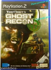 TOM CLANCY'S - GHOST RECON jeu video pr console PlayStation 2 Sony PS2 ps testé