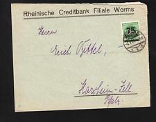 Germany Inflation Single 75 Thousand Mark Stamp Rhein Credit Bank Worms 1923 z73