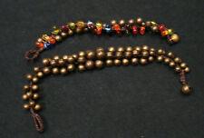 stock 20 bracciali sonagli pietre sintetiche etnico tribale ingrosso bigiotteria