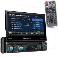 Soundstream VR-75XB Single DIN Bluetooth DVD/CD Car Stereo w/ Flipout Screen