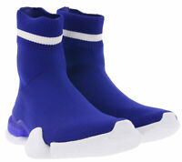 Reebok Sock Run_R Retro-Sneaker Blogger-Schuhe halbhoch geschnitten Blau/Weiß