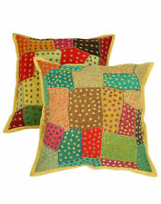 "Patchwork 16x16"" Size Decorative Cushions"