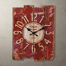 "Free Shipping Roman Rustic 15"" Antique Vintage Clock Wall Art Home Decor Cafe US"