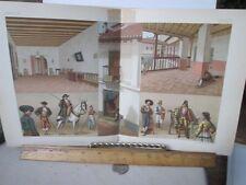 Vintage Print,COSTUMES DE LA GALICE,Costumes Historiques,Chromo