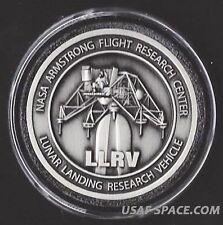 LLRV LUNAR LANDING RESEARCH VEHICLE ARMSTRONG FLIGHT RESEARCH NASA MEDALLION