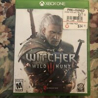 XBox One The Witcher III Wild Hunt Video Game 2015 Adventure