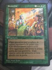 Mtg, Rebirth. Italian Legends Rare.