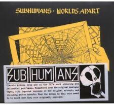 Subhumans - Worlds Apart [New CD] Rmst, Digipack Packaging, Reissue